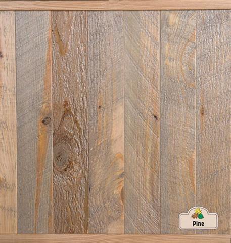 Pine Clic Cut Dark Stain500 Gray Stain