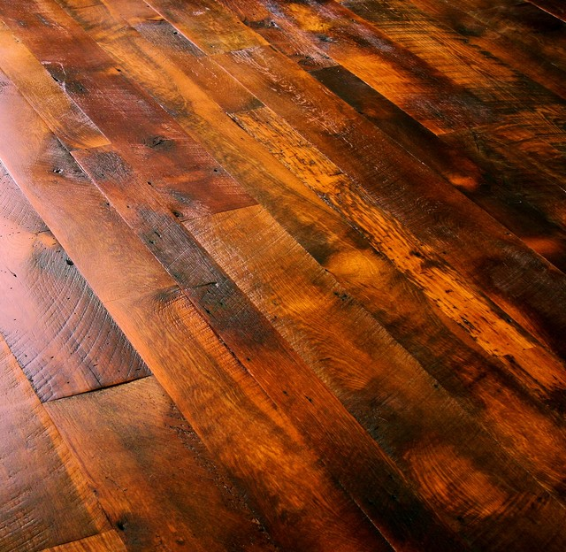 Rustic Wood Floor Aitkin Hardwoods
